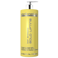 Bain Shampoo Gold Lifting 1000ml. (kučeravé vlasy)